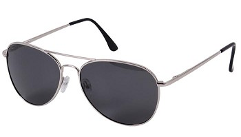 58mm Polarized Aviator Sunglasses