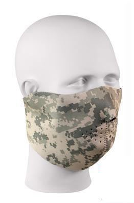 Reversible  Stretch Facemask  - ACU/Black