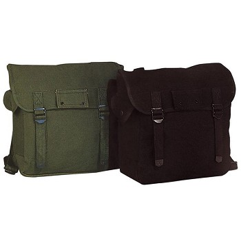 Military Musette Canvas Bag