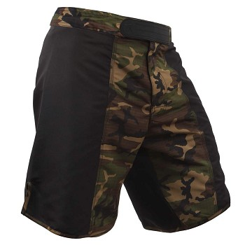 Woodland Camo MMA Fight Shorts