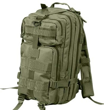 Medium Transport Olive Drab Tactical Backpack