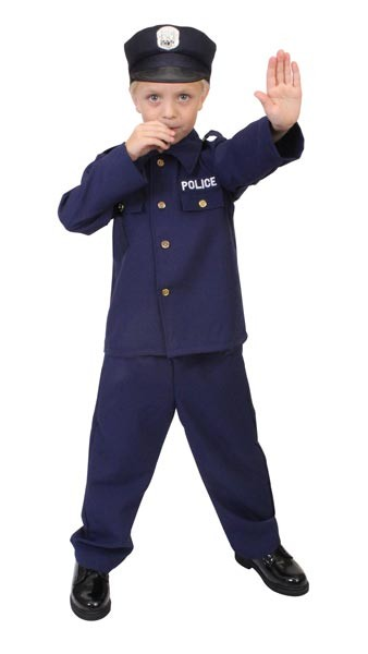 Kids Junior Police Costume
