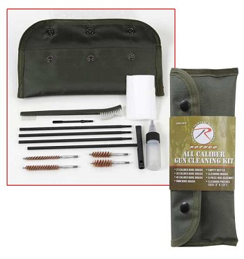 Deluxe All Caliber Gun Cleaning Kit