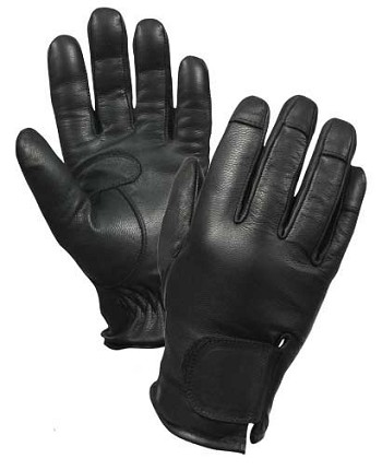 Leather Police Cut Resistant Glove