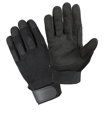 Basic Issue Black Lightweight Tactical Duty Glove