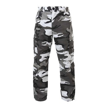 City Camouflage Vintage Paratrooper Cargo Pants