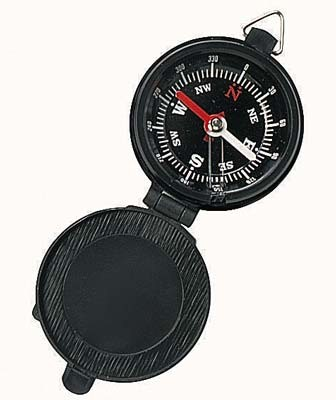 Lidded Pocket Compass