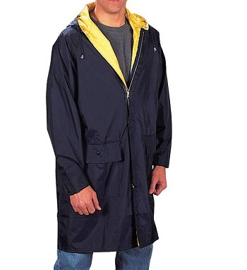 Reversible 3/4 Length Waterproof Rain Parka