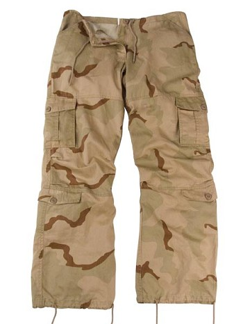 Womens Camo Paratrooper Military Fatigues