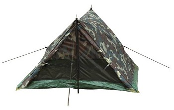 Woodland Camo Two Person Waterproof Trail Tent