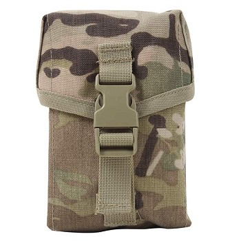 Multicam MOLLE II 100 Round Saw Pouch