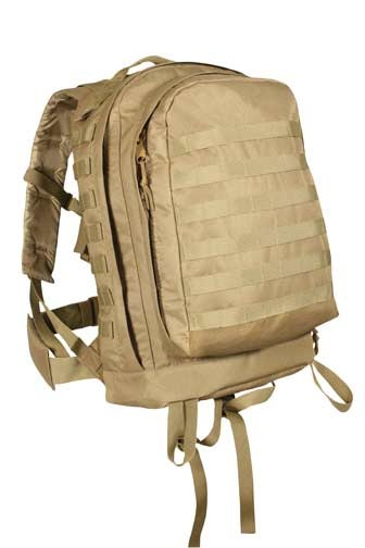 Forced Entry Coyote MOLLE Military Assault Pack