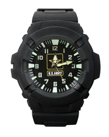 Aquaforce Army Logo Military Wrist Watch