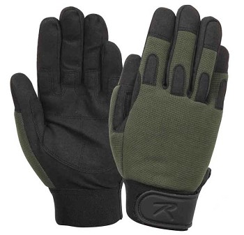 Lightweight Olive Drab All Purpose Gloves