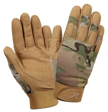 Multicam Lightweight All Purpose Tactical Duty Glove