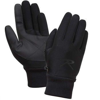 Black All Weather Tactical Gloves