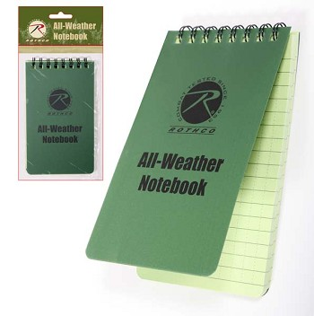 All Weather Waterproof Notebook