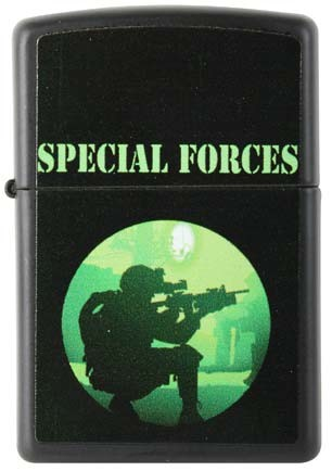 Special Forces Zippo Lighters