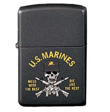 Marines Mess With The Best Zippo Lighter