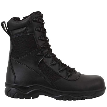 Forced Entry Side Zip Uniform Composite Toe Tactical Boot