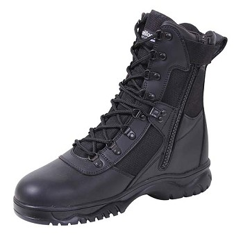 Forced Entry 8-inch Insulated Waterproof Side Zip Tactical Boot