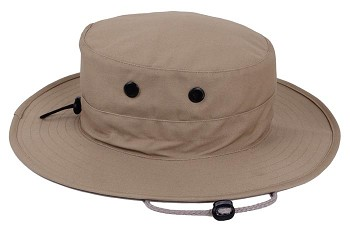 Basic Issue Adjustable Khaki Boonie Hat