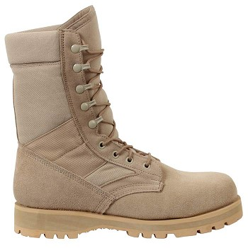 G.I. Type Lug Sole Desert Tan Boot