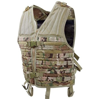 Basic Issue Multicam MOLLE Compatible Modular Vest