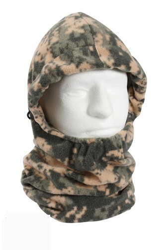ACU Digital Camo Adjustable Polar Fleece Balaclava