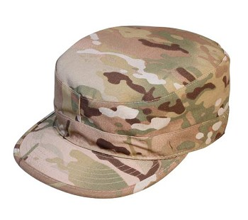 Basic Issue MultiCam Patrol Hat with Map Pocket