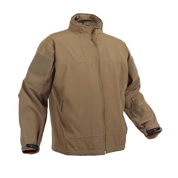 Covert Ops Coyote Lightweight Soft Shell Jacket
