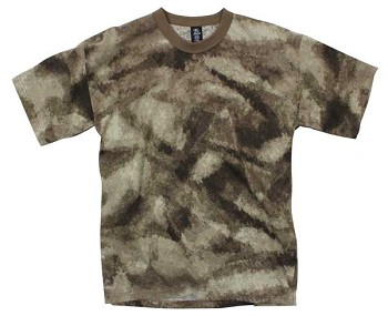 Brown A-Tacs AU Camouflage T-Shirt