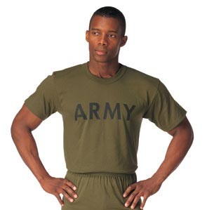 US Army Olive Drab Physical Training T-shirt