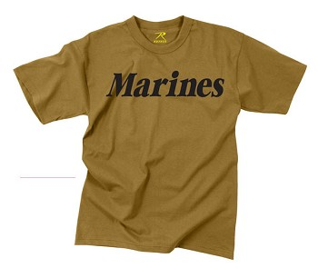 Coyote USMC Physical Training T-Shirt