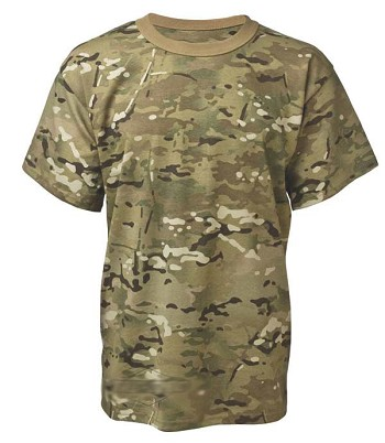 Multicam Camouflage T-shirt