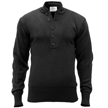 5 Button Front Commando Sweater