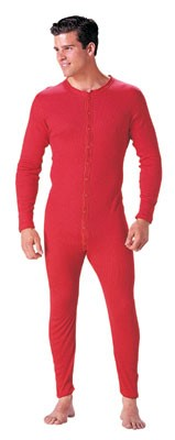 Original Red Union Suit