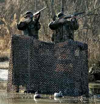 Small Military Camouflage Net -  9 ft 10 in x 9 ft 10 in