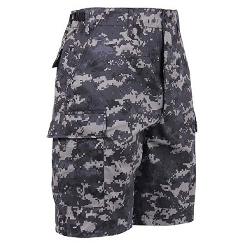 Urban Digital Camo BDU Shorts