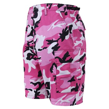 Pink Camo Military BDU Shorts