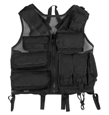 Basic Issue Black Tactical S.W.A.T. Vest