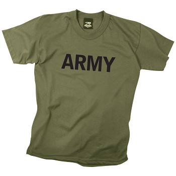 Olive Drab Army Kids T-shirt