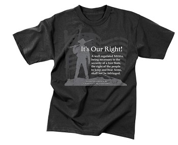 Vintage It's Our Right T-Shirt