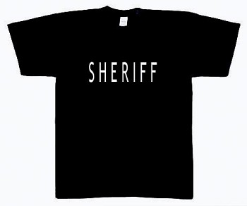 Sheriff 2-Sided T-Shirt