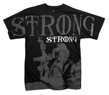 Black Soldier Strong Vintage T-Shirt