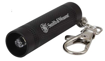 Smith and Wesson Galaxy Ray Keychain Flashlight