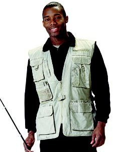 Khaki Safari Outback Travel Vest