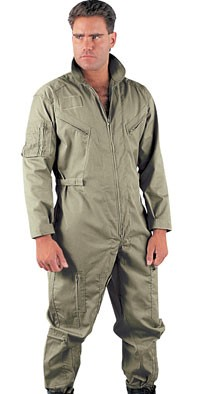 Foliage Green Military Flightsuit