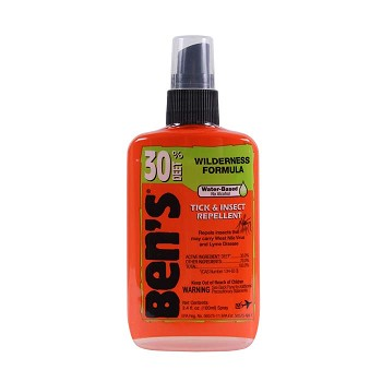 Ben's 30 Wilderness Spray-on Insect Repellent