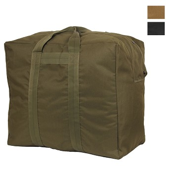 Enhanced Nylon Military Aviator Bag - Olive or Black